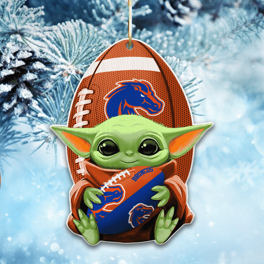 Boise State Broncos NCAA1 Wooden Ornament
