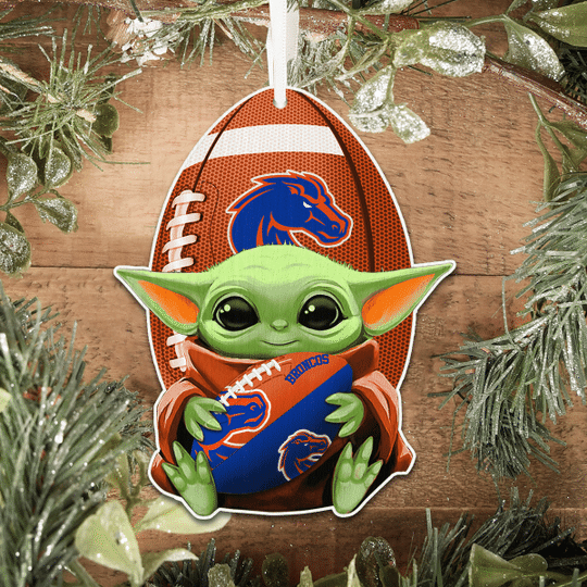 Boise State Broncos NCAA1 Wooden Ornament1