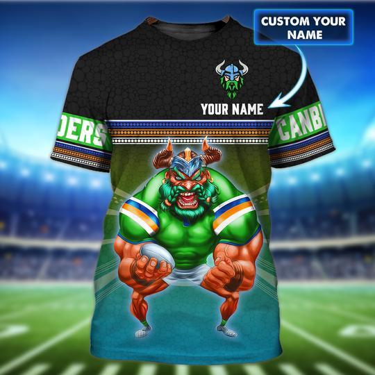 Canberra Raiders custom personalized 3d t shirt 1