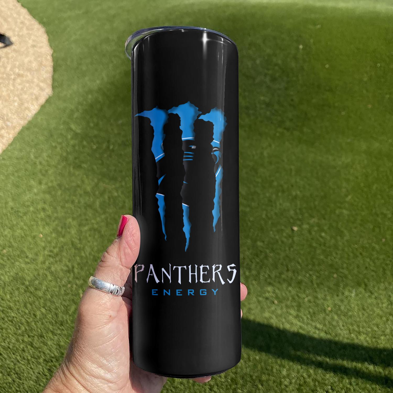 Carolina Panthers Skinny Tumbler 2