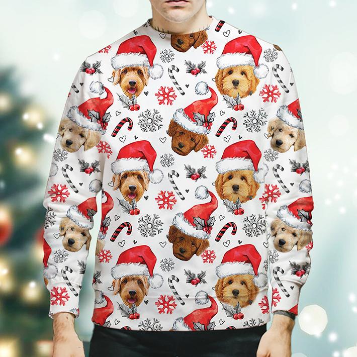 Christmas Xmas Goldendoodle Sweatshirt1
