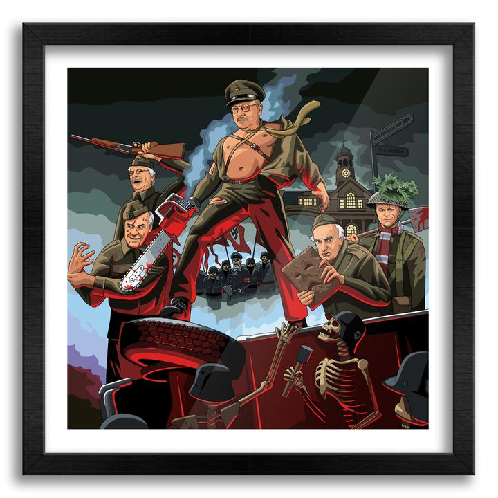 Dads Army of Darkness wall art