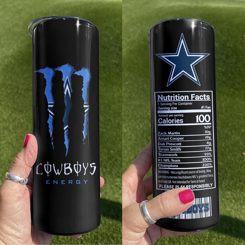 Dallas Cowboys Skinny Tumbler