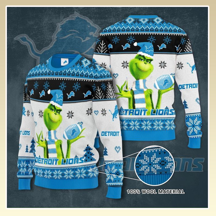 Detroit Lions Custom Name Sweatshirt1