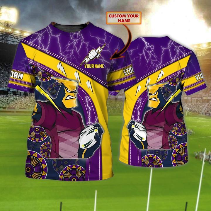 Melbourne Storm custom personalized 3d t shirt 1
