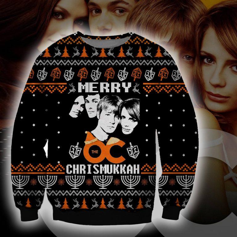 Merry The OC Chrismukkah ugly sweater sweatshirt 1
