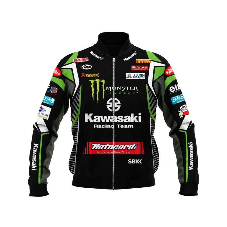 Monster Energy Kawasaki Racing bomber jacket 1
