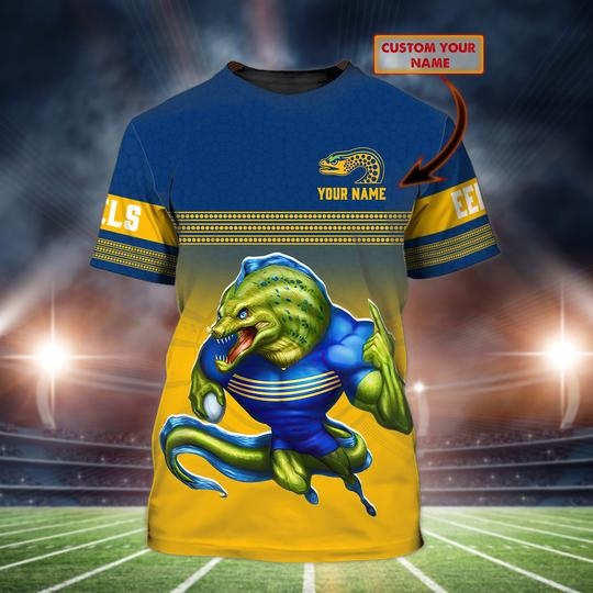 Parramatta Eels custom personalized 3d t shirt 1
