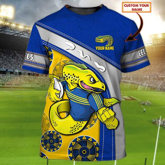 Personalized Parramatta Eels custom personalized 3d t shirt 1