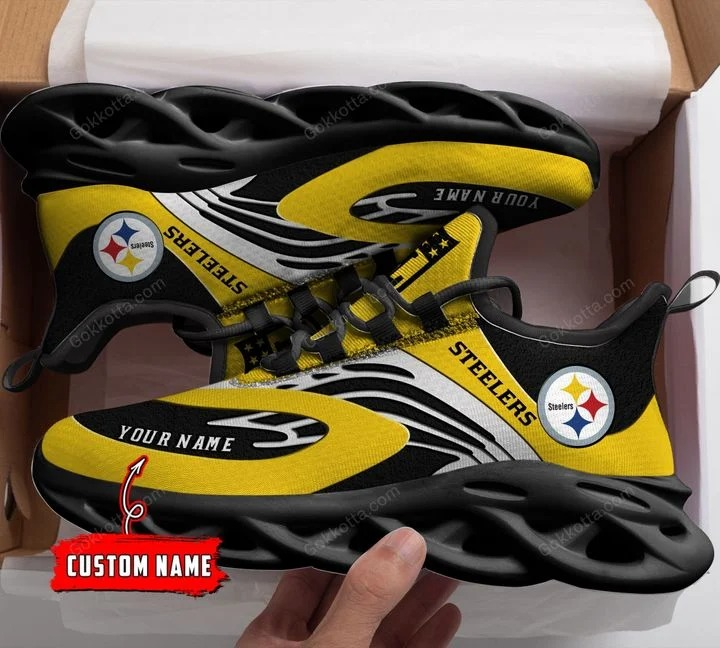 Pittsburgh Steelers custom personalized max soul clunky sneaker shoes 2