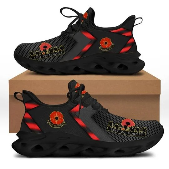 Remembrance day Canada Lest we forget max soul clunky sneaker shoes 1