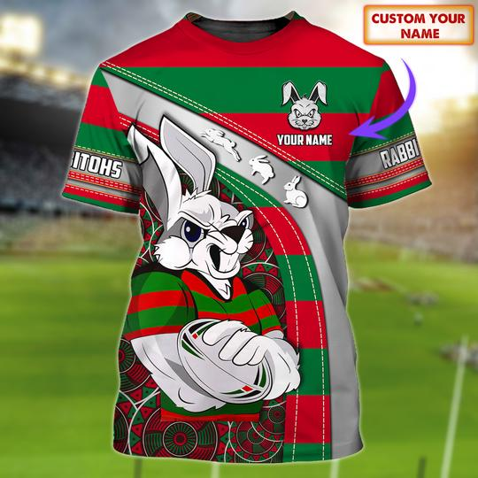 South Sydney Rabbitohs custom personalized 3d t shirt 1