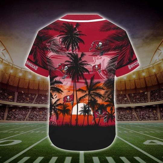 Tampa Bay Buccaneers Tropical Baseball Jersey2