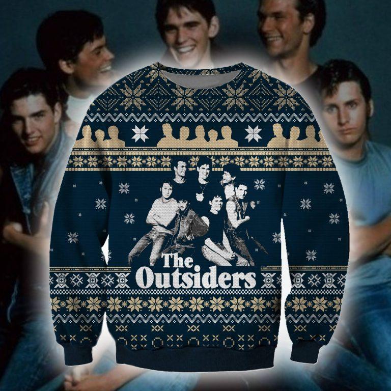 The Outsider ugly christmas sweater sweatshirt 1