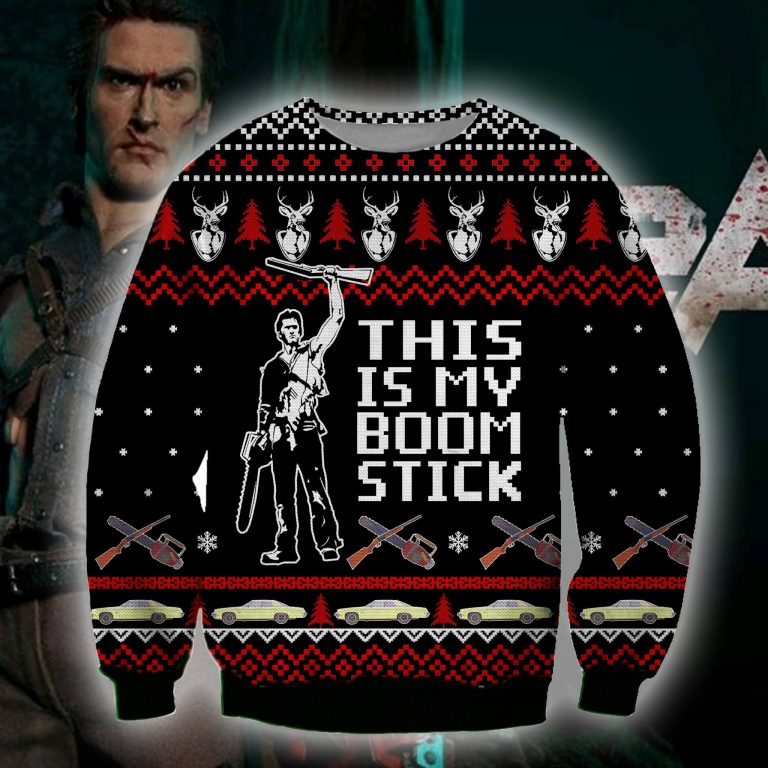 This is my boom stick Army of Darkness sweater sweatshirt 1