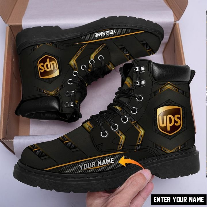 United parcel service classic boots customized names