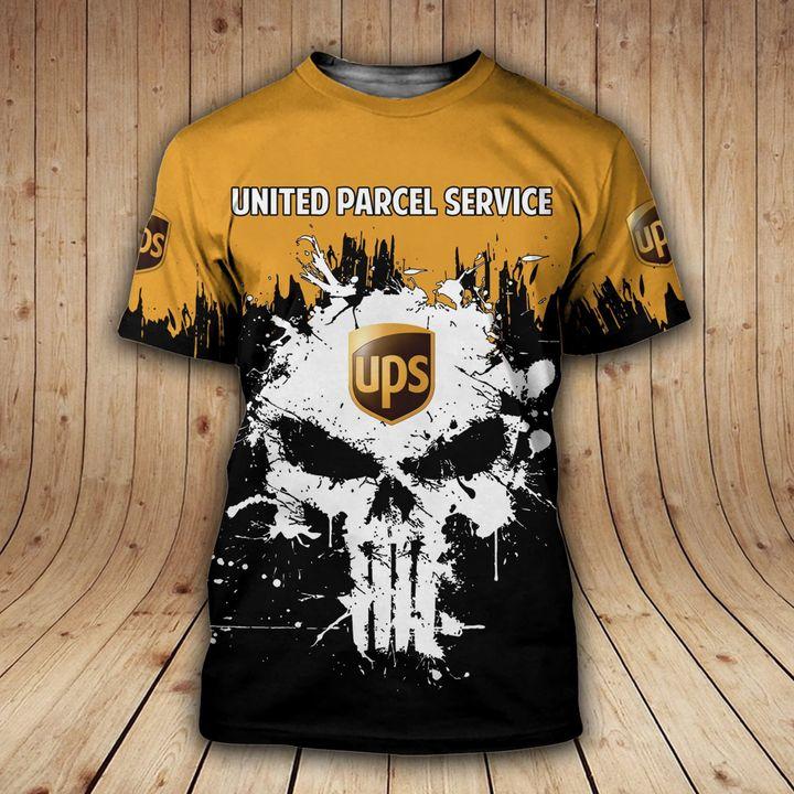 United parcel service parcel unisex t shirts
