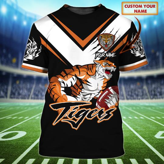 Wests Tigers custom personalized 3d t shirt 1