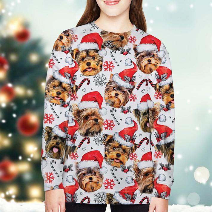 Christmas Xmas Yorkshire Terrier Sweatshirt