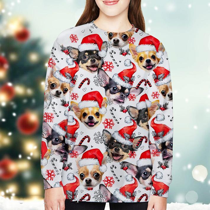 Christmas Xmas Chihuahua Sweatshirt