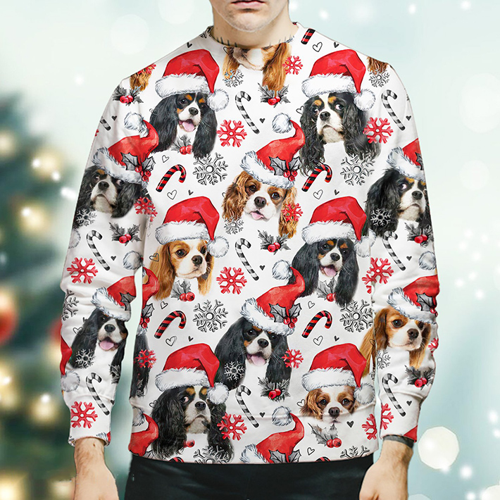 Christmas Xmas Goldendoodle Sweatshirt3